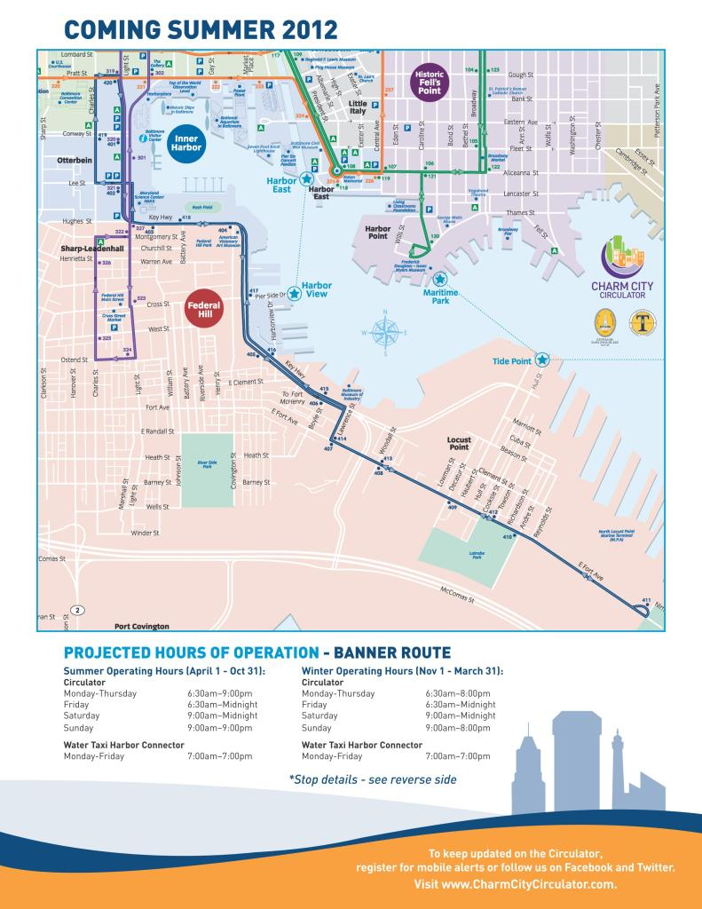 Circulator to Launch Banner Route, SoBo Not Included on