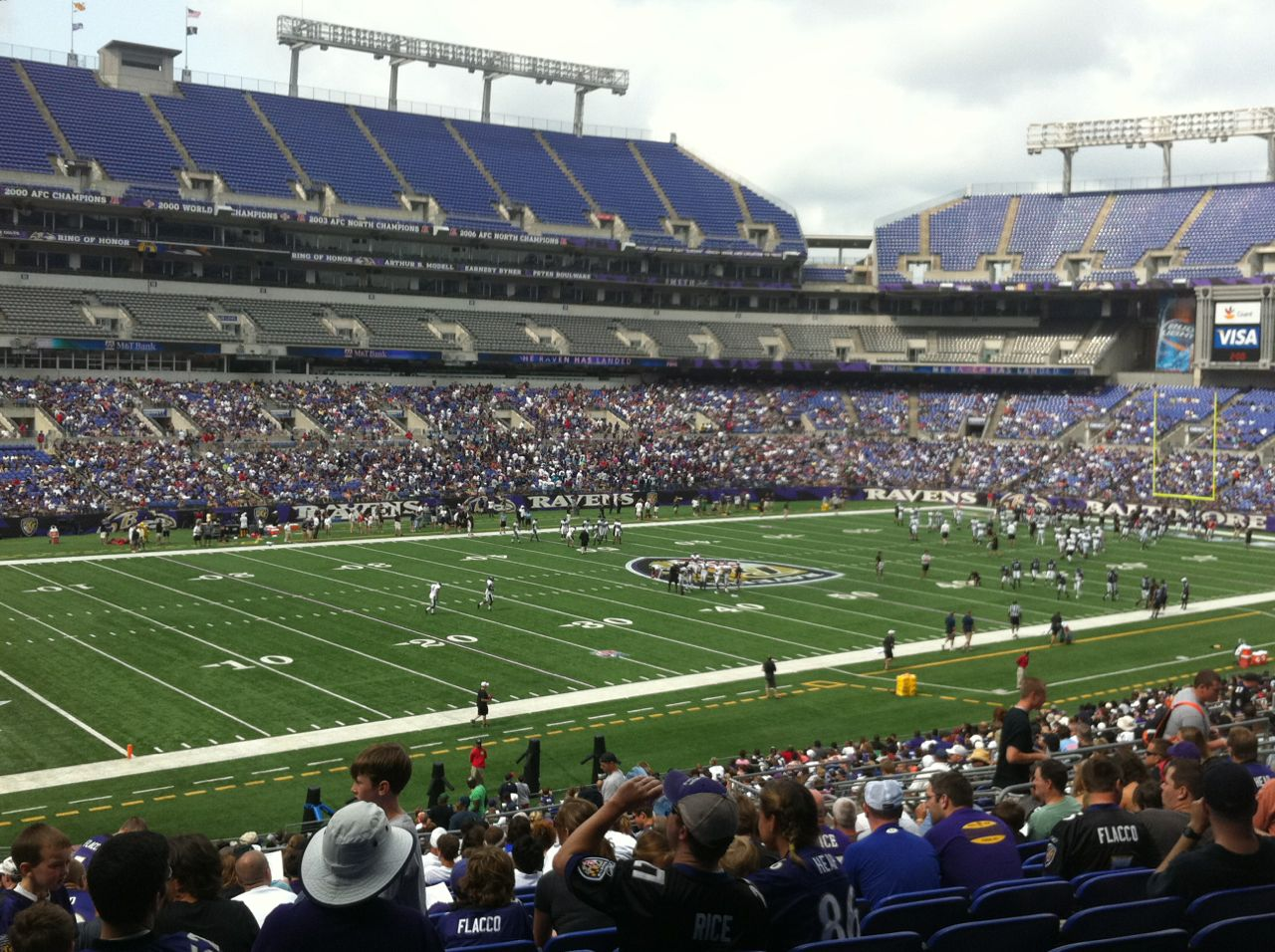 Free Ravens Training Camp Practice Tonight at M&T Bank Stadium