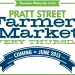 Pratt Street Farmers Market Coming in June
