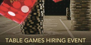 Horseshoe Baltimore Table Games Hiring Event on April 21st & 22nd