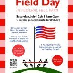 Federal Hill Field Day at Federal Hill Park on July 12th