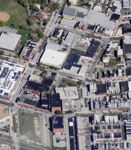 Screenshot of the area from Google Maps