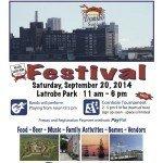 Locust Point Festival on Saturday, September 20th at Latrobe Park