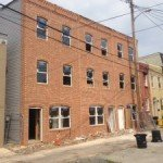 Three New Townhomes Under Construction at 1718-1722 Marshall Street