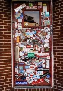 Photo of Idle Hour's front door.  Photo courtesy of their Indiegogo campaign.