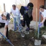 Ravens Launch Week of Environmental Initiatives Including Bike Party and Alley Painting