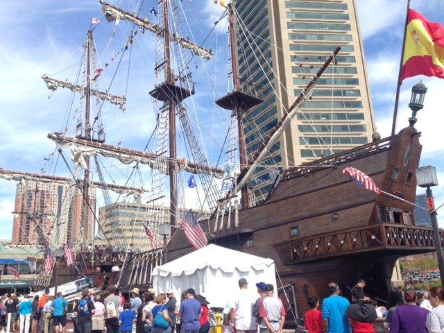star spangled sail