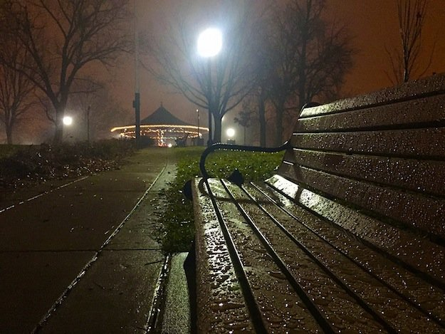 A rainy day at Riverside Park by Bart Viguers of Bmore Fresh