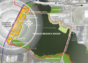 Middle Branch Loop Master Plan from Turner Development