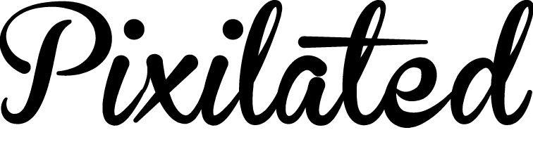 Pixilated Black