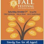 Thomas Johnson Fall Festival on Saturday, October 3rd