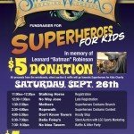 "Federal Hill Fundraiser in Memory of Leonard ""Batman"" Robinson, This Saturday, September 26th"