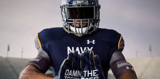 Under Armour-Designed Uniforms for Navy Football Receiving Rave Reviews
