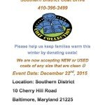 Baltimore Police Southern District Annual Coat Drive Underway