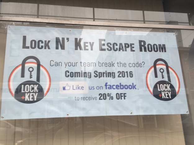 Baltimore lock and key