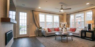 Million Dollar Monday: Richmond American Townhome with Double Master Suites, Four-Car Parking, and Multiple Terraces