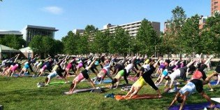 Free Summer Fitness Classes Launch at the Inner Harbor