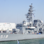 Japanese Ships Kashima, Setoyuki, and Asagiri Arriving at the Inner Harbor Next Week