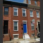 Tuesdays Under 250: Rowhome with Exposed Brick and Hardwood Floors on Patapsco Street