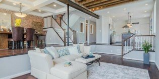 Million Dollar Monday: Historic Locust Point Double-Wide Rowhome with Au Pair Suite