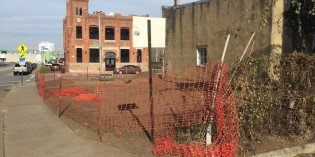 Construction Begins on Wells Street Pocket Park