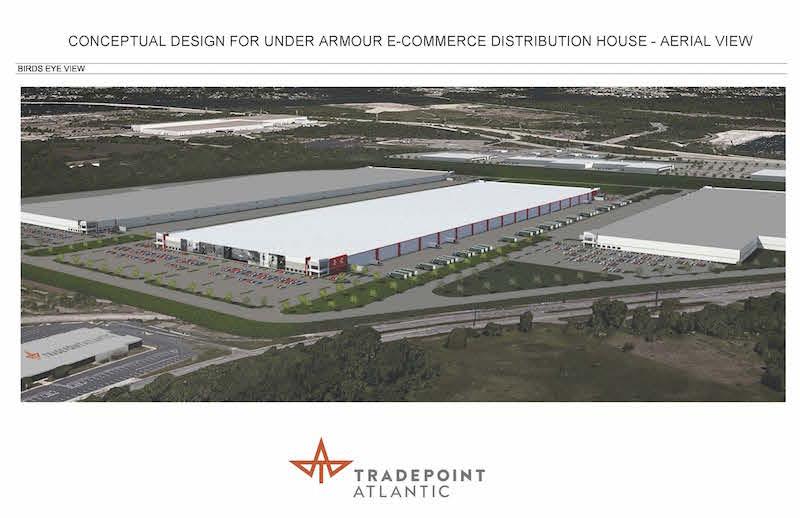 UA Aerial Concept Building Image
