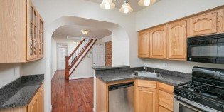Tuesdays Under 250: South Baltimore Rowhome with Archways and Original Hardwood Floors