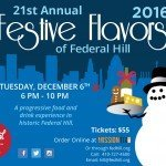 21st Annual Festive Flavors of Federal Hill on December 6th