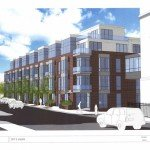 New Apartment Building Proposed at Harbor Hill Apartments in Federal Hill