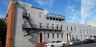 Rental Spotlight: 3,500 Sq. Ft. Federal Hill Rowhome with a Rooftop Deck