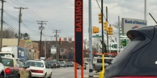"New ""Baltimore"" Signs Installed at City/County Lines in South Baltimore and Around City"