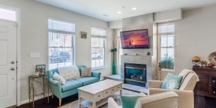 Rental Spotlight: 2,500 sq. ft. Locust Point Townhome with a Rooftop Deck and a Garage
