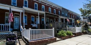 Mid-Week Listing: Rowhome Near Stadium Square with a Front Yard and Porch