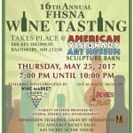 Federal Hill South's Wine Tasting Event at AVAM on May 25th