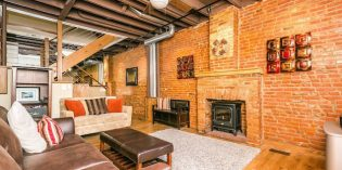 Rental Spotlight: Three-Bedroom Rowhome in Federal Hill with Lots of Character and a Rooftop Deck