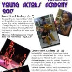 Spotlighters Theatre: Young Actors Summer Academy Registration OPEN