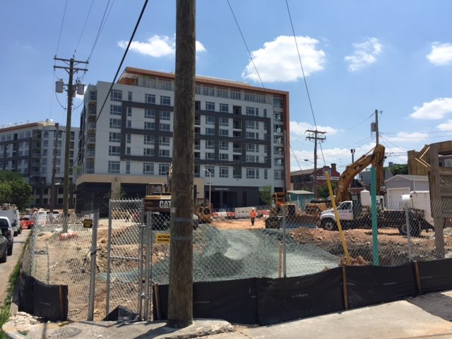 Construction Begins At Anthem House Ii A Unit Apartment