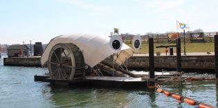 Trash Wheel Coming To Masonville Cove in South Baltimore's Middle Branch
