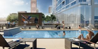 44-Story Tower at 414 Light Street Announces Opening Date, Begins Leasing