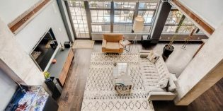 Million Dollar Monday: Two-Story Industrial Condo with a Large Outdoor Terrace