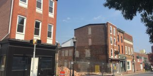 Construction of New Apartment Building Begins on Light Street in Federal Hill