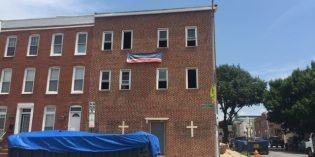 Construction Underway to Convert Former Hanover Street Church to Two Rowhomes