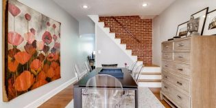 Mid-Week Listing: Stylish Locust Point Rowhome with a Parking Pad