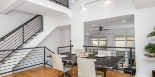 Million Dollar Monday: Custom Federal Hill Townhome with a Garage and a Two-Story Atrium