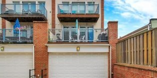Million Dollar Monday: Luxury Locust Point Townhome with Three Decks and a Garage