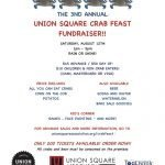 Union Square Association CrabFeast this Saturday