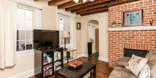 Tuesdays Under 250: 1875 Federal Hill Rowhome with a Front and Back Patio