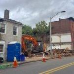 The Victory House Demolished