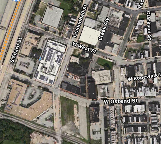 Hanover Cross Street Apartments: Before And After Overhead Maps Of South Baltimore Development