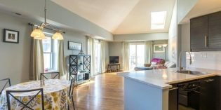 Tuesdays Under 250: Federal Hill Condo Near the Inner Harbor With High Vaulted Ceilings